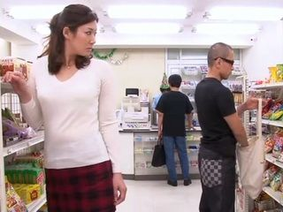 Shoplifting Agent Mari Hosokawa Gets Roughly Punished For Mistake During Her Shift