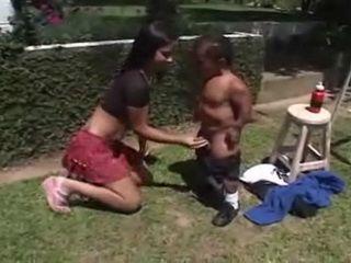 Hot Pornstar Fucks a Midget