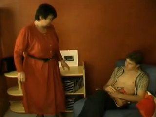 Russian Mature Mom Caught Husbands Nephew Jerking On Porn Magazine
