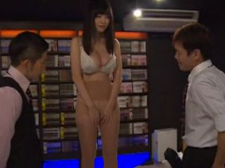 New Busty Girl Natsu Kimino Is Blackmailed By Her Colleagues Cos She Caught Masturbating On Work