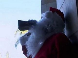 Drunk Santa Use His Hot Elf For Good Fucking