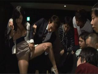 Guy Brought His Girl Ogura Nana To A Private Theatre Where She Gets Violated By All Of His Friends