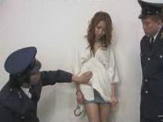 Japanese Lady Violated In The Police Station By Officers