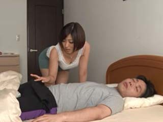 Neglected by Her Husband Hot Step Mother Mizuno Chaoyang Couldnt Resist Sons Boner
