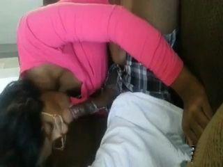 Ugly Ebony Girl Gives Head To Local Ghetto Guy