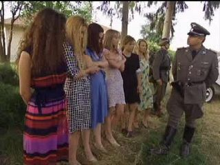 Nazi Officer Has No Mercy To Captured Village Women