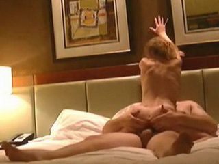 Horny Girlfriend Riding Cock In Hotel Room