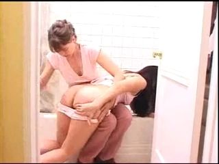 Aunt Spanking Niece and Takes Rectal Temperature xLx