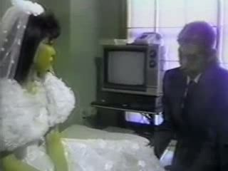 Japanese Bride Gets Fucked By Grooms Dad On A Wedding Night