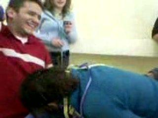 Arab Students Blowjob In Classroom