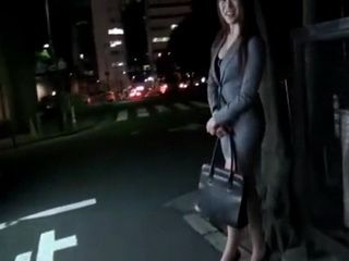 Japanese Office Lady Gets Fucked Through Her Ripped Of Pantyhose