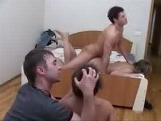 Teens Plays Rough Game With Younger Couple