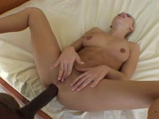 Painful Interracial Anal Fuck For Tight Ass Angela Crystal With Monster BBC