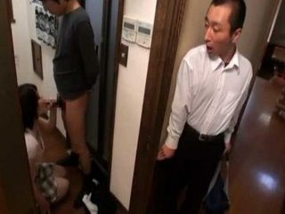 Husband Came From Business Trip Earlier And Caught Wife Giving A Blowjob To His Cousin