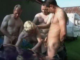 Mature Woman Calls Neighbors For Nasty Sex