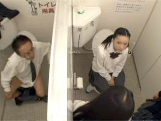 Professor Heard How Student Torture Poor Girl At The Toilet And Came To Help Her And Calm Her Down