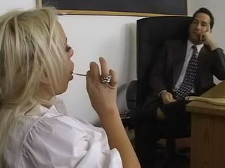 Sex Lesson In Principal Office