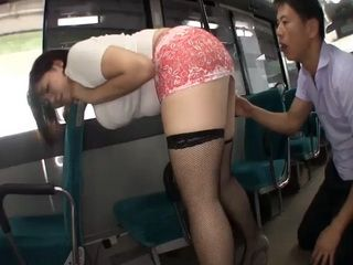 Chubby Big Titted Woman Offering Her Smelly Pussy To Bus Driver In Exchange For Ticket