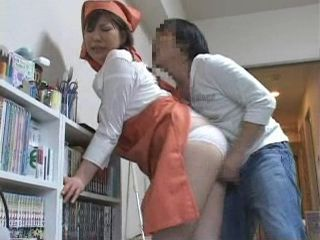 Immodest Boy Attacks Mature Maid To Fuck Her
