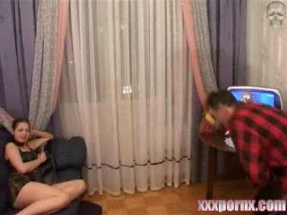 Russian Uncle Fuck Horrified Niece