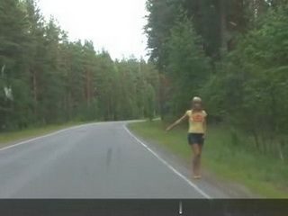 Hitchhiker Must Pay For Her Ride Somehow