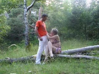 Mature Couple Love Public Sex In The Forests