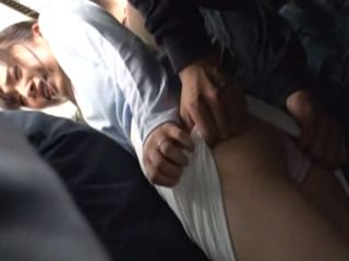 Pervert Grope and Fucks Unwilling Milf In Public Bus