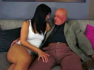 Hot Girl Viola Gets Fucked By An Old Man