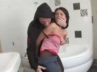 Intruder Broke Into Poor Teens House And Brutally Anal Fucked Her