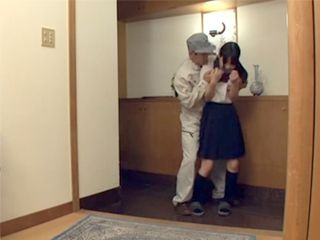 Postman Fucked Young Japanese Girl When He Realized She Is Home Alone