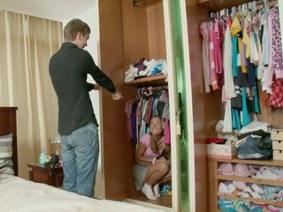 Horny Teens Stepbrother And Stepsister Playing Peekaboo In Her Closet