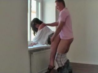 Big Tits Wife Fucking Real Estate Agent In Empty Apartment For A Better Price