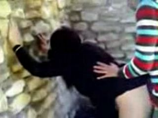 Teenagers Having A Quick Fuck In Ruins