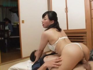 Giving Pussy Massage To Cousin While Her Mom Is In Other Room
