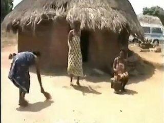 Native Girls Go Crazy For Sex Under Hot African Sun