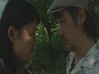 Japanese Housewife Cheating on Her Husband With A Neighbor In A Woods