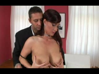 Brunette With Natural Tits Hard pussy And Anal Fuck