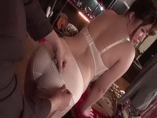 Nasty Tailor Get Chubby Busty Japanese Girl In Unpleasant Situation
