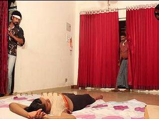 Thiefs Assaulted Sleeping Indian Girl
