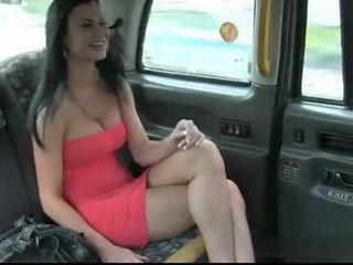 Fucking Hot Busty Customer In The Cab