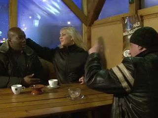 Strange Couple Pick Up Black Guy In The Bar For Some Experiment In Their Relationship