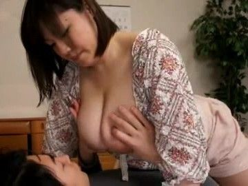 Busty Stepmom Shinobu Mizuki Makes Her Teenage Stepson a Happy Boy