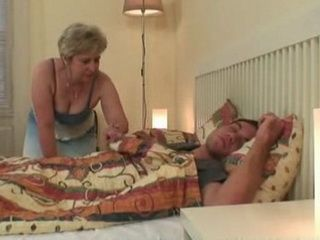 Mature Mamma Fuck Her Sleeping Son In Law