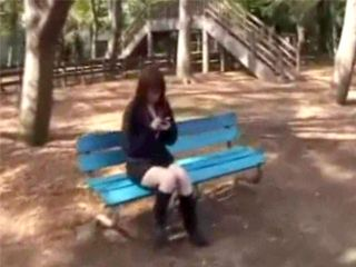 Japanese Boy Aproached A Lonely Girl In A Park And Talked Her In Going To His Apartment