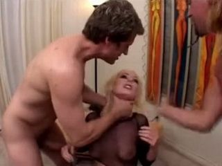 Blonde Girl Gets Hard Fucked And Violated By Two Guys With No Mercy
