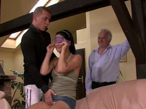 Old Husband Hired A Guy To Fuck His Wife While He Is Watching