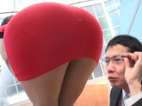 Ultra Hot Anri Okita Came On Job Interview Without Panties