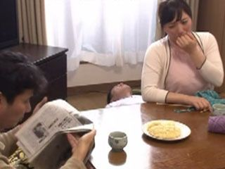 Shameless Mom Jumping On Stepson Cock After Dinner While Her Hubby Is Riding A Newspaper