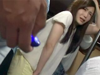 Humiliated Girl In Bus Get A Dildo On A Remote Control