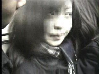 Two Japanese Schoolgirls Abused And Fucked In Train By Two Elders